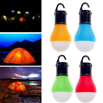 Hanging LED Camping Tent Light Bulb Fishing Lantern Lamp Outdoor Accessories