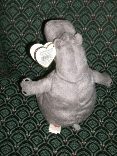 MWMT ~ Retired Madagascar Movie Escape 2 Africa Ty Beanie GLORIA the Hippo