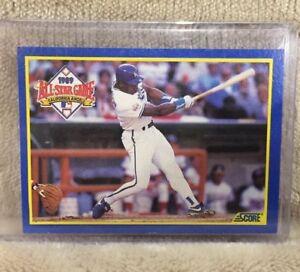 Details About 1990 Bo Jackson Score 566 All Star Mvp Baseball Card Kansas City Royals Mlb