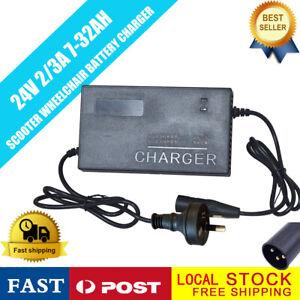 24V-Battery-Charger-for-Electric-Scooter-ATV-Razor-E300-E90-Go-kart-za-AU-plug
