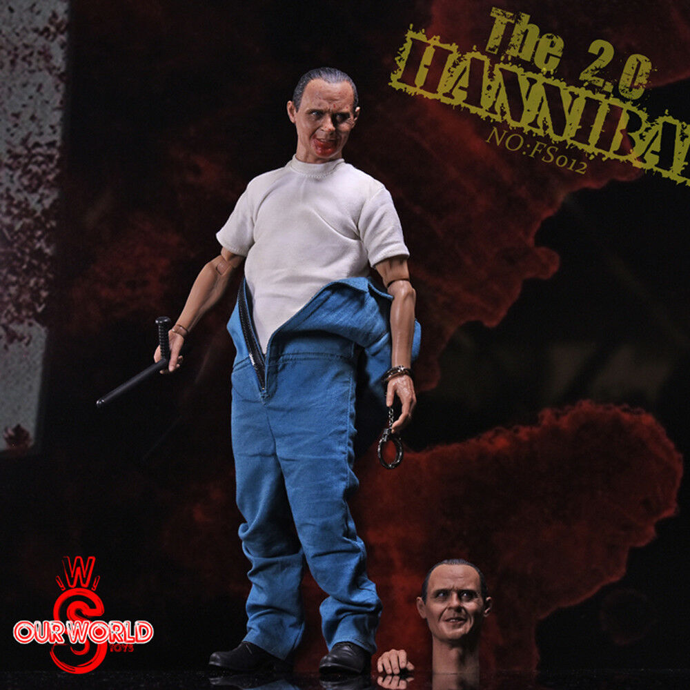 1 6 The Silence of the Lambs Dr Hannibal Anthony Hopkins 2.0 Premium Figure Set