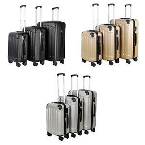 VOSSBACH-Koffer-Set-3-teilig-mit-Rollen-M-L-XL-Kofferset-Trolley-Reisekoffer