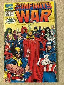 The-Infinity-War-1-NM-Marvel-1992-Thanos-Wolverine-Avengers