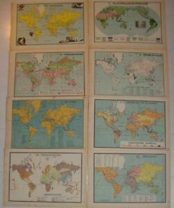 8-Old-maps-World-1939-kaart-Wereld-map-mappa-mondo-earth-climate-religion-globe
