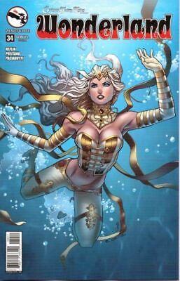 GRIMM FAIRY TALES VS WONDERLAND TP Softcover Zenescope Comics Vault 35