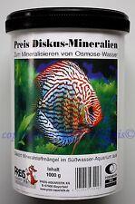 Preis Aquaristik Diskus Mineralien 1000g Mineralsalz für Süßwasser 23,80€/kg