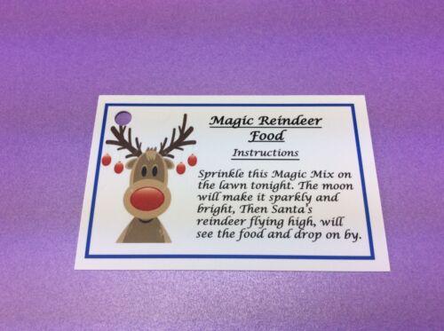 Dust Xmas White Magic Reindeer Food Christmas Traddition Christmas Eve Box