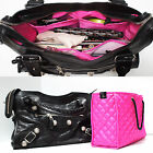 ZOE Handbag Quilted Purse Organizer Insert Removable Base Fits BALENCIAGA Bag