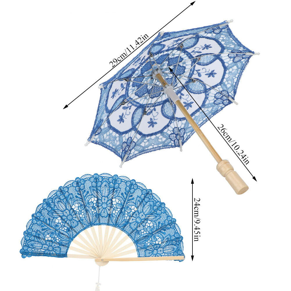 Handcraft Decoraton Craft Lace Umbrella For Wedding Dance Stage Performance D ND