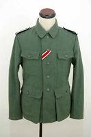 WWII German M42 elite EM field wool tunic Feldbluse L