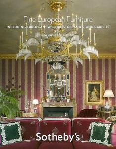 Sothebys Sale No8472 European Furniture Ceramic Auction Catalog 2008 Ebay