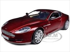 ASTON MARTIN DB9 COUPE BURGUNDY 1/18 DIECAST MODEL CAR BY MOTORMAX 73174