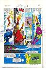 1984 Iron Man 181 page 4 original Marvel Comics color guide comic art: 1980's