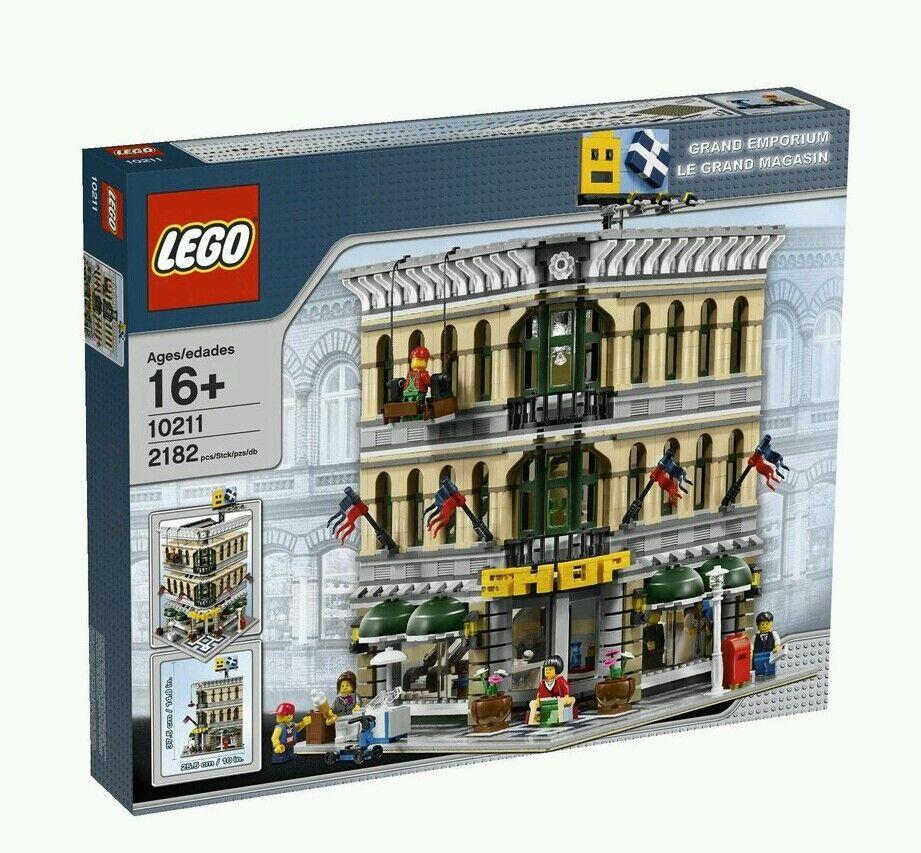 LEGO CREATOR GRe EMPORIUM  10211 MODULAR BRe nuovo SEALED RETIrosso RARE  la vostra soddisfazione è il nostro obiettivo