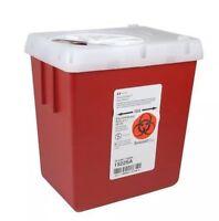 Kendall Sharps Needle Container, Large,2.2 Quart,1522sa,tatoo,2 Quart,4 Pack>