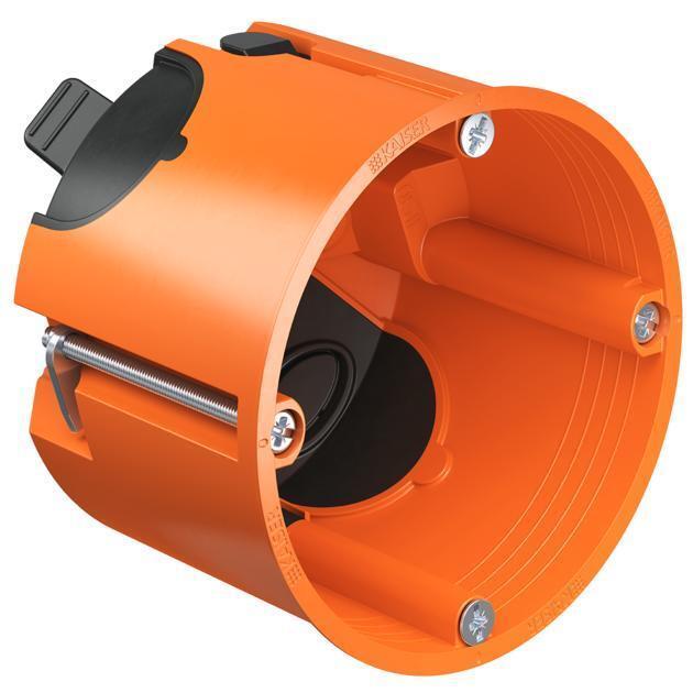 25x KAISER Hohlwanddose Hohlwanddose Hohlwanddose winddicht Typ 9264-22 Kunststoff 68x62mm | Verwendet in der Haltbarkeit  2eee71