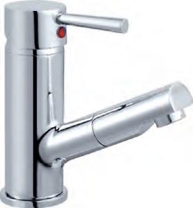 Design Wasserhahn Waschtisch Armatur Herausziehbare Brause