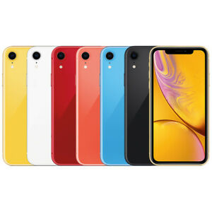 Apple iPhone XR 64GB Factory Unlocked Smartphone