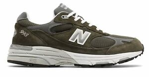 New-Balance-Men-039-s-Classic-993-Running-Shoes-Green