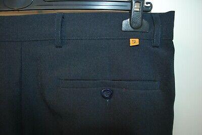 Fashion Style Vintage Farah Pantaloni Blu W 36 L 29 Mod Casual Classic-mostra Il Titolo Originale