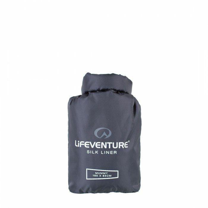 Lifeventure Silk Sleeping Bag Liner (Mummy)