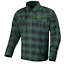 thumbnail 6 - Men Motorcycle Plaid Flannel Lumberjack Shirt Reinforced w/ Protective Lining