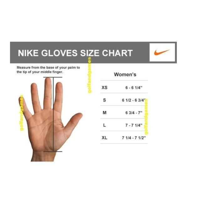 separation shoes 7b730 33a7b Nike glove size chart