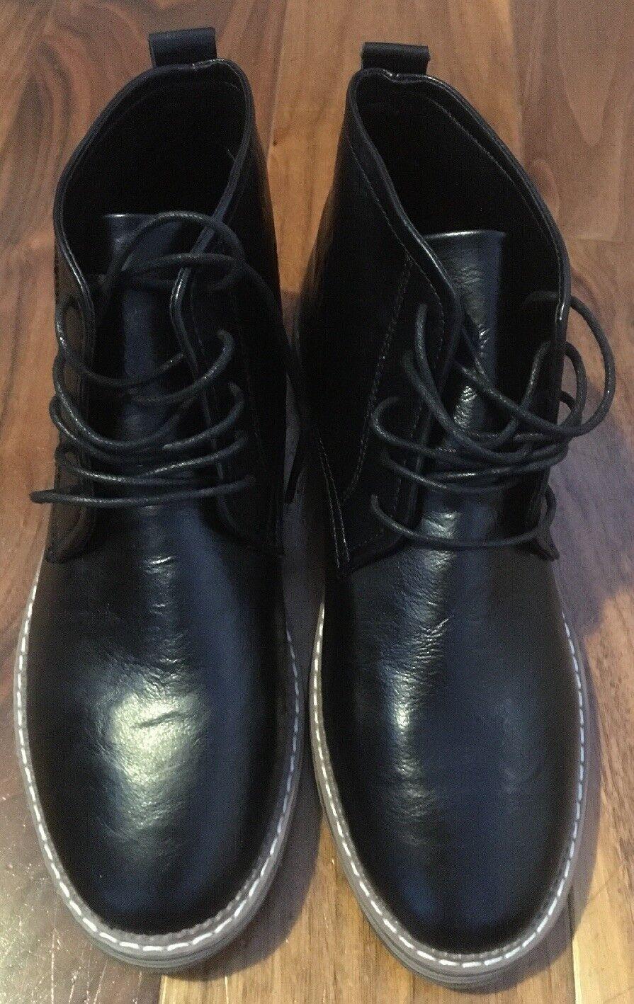 BRAND NEW MENS schwarz LEATHER OXOMA DESIGNER Stiefel Größe UK UK UK 8 EU 41 632ba0