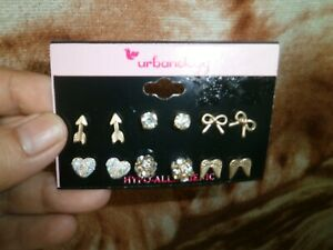 CLOSEOUT-SALE-Imported-From-USA-14-Urbanology-6-Pairs-Earrings-D-1
