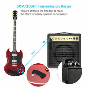 US-Portable-5-8GHz-Wireless-Guitar-Transmitter-Receiver-For-Electric-Guitar-Bass