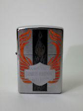 """Zippo """"HARLEY DAVIDSON FLAME DESIGN"""" - nuovo & confezione originale - #1248"""