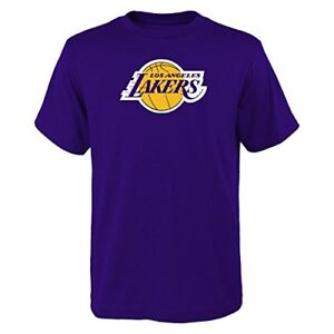 YOUTH-Los-Angeles-Lakers-NBA-primary-logo-T-Shirt-Purple
