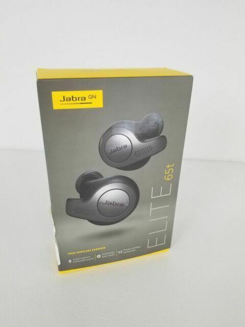 Jabra Elite 65t Titanium Black True Wireless Earbuds (Manufacturer Refurbished)