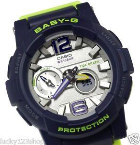261c49ba4d9 BGA-180-2B Blue Baby-G Casio Lady Watches Resin Band Digital Brand ...