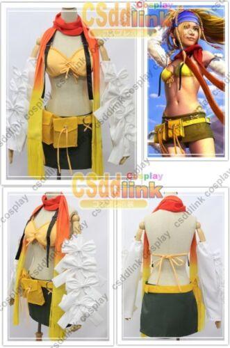 Rikku from Final Fantasy X-2 Cosplay Costume