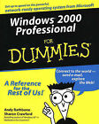 Windows 2000 Professional For Dummies by Andy Rathbone, Sharon Crawford (Paperback, 2000)