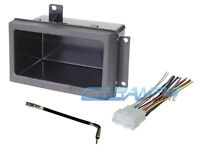 Car Truck Stereo Radio Replacement Dash Pocket Trim Kit W Wiring Harness Antenna on sale
