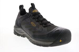 Keen Flint II Sport 1023230 Mens Gray Mesh Lace Up Hiking Boots 13