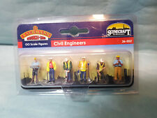 Bachmann Scenecraft 36-052 Civil Engineers 6 Painted /& Finished OO Figures