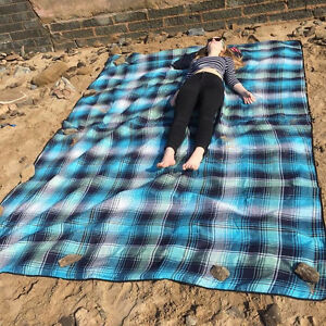Out There Xl Picnic Mat Rug Jumbo Beach Blanket Or Camping Mat