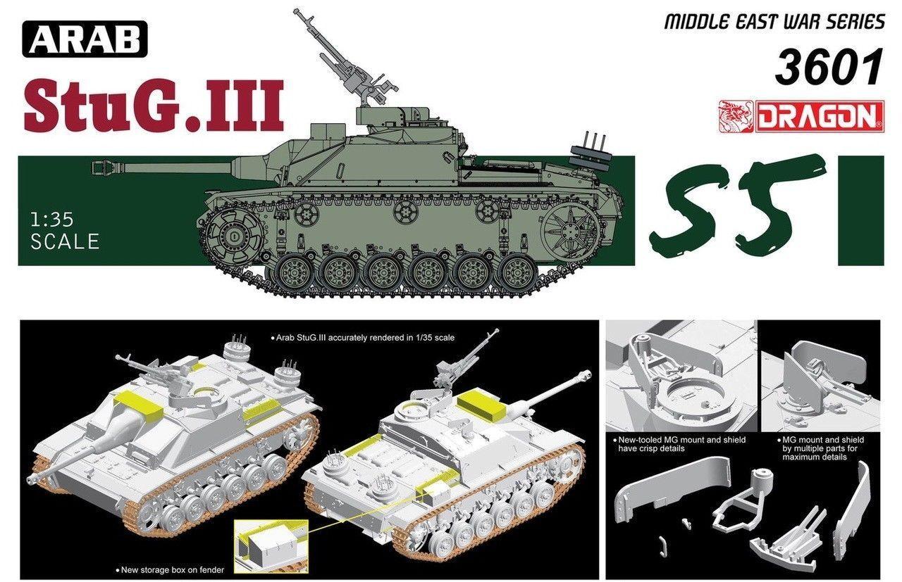 DRAGON 3601  1 35 Arab StuG.III 50th Anniversary The Six-Day War NEW