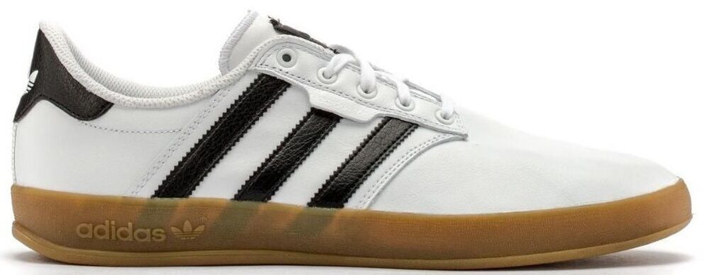 ADIDAS SEELEY CUP LOW SNEAKERS MEN SHOES WHITE GUM 76910 SIZE 13 NEW