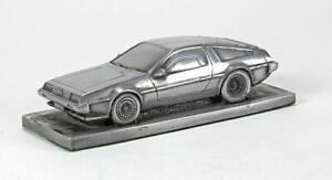 De-Lorean-DMC-12-Fluted-Bonnet-Pewter-Effect-Model-Car-01DL