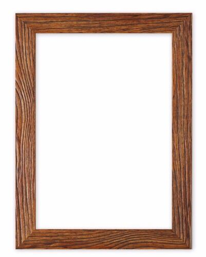Driftwood effect Flat Picture Frame Photo Frame Poster Frames A4 ...