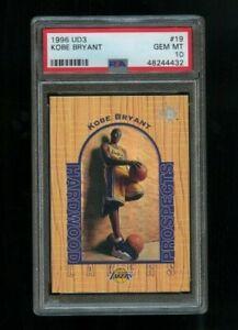 1996-97-UD3-Kobe-Bryant-19-Rookie-RC-PSA-10-GEM-MINT-Los-Angeles-Lakers-HOF