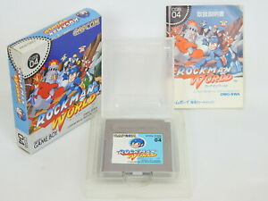 ROCKMAN-WORLD-1-Megaman-Ref-1519-Game-Boy-Nintendo-Japan-gb
