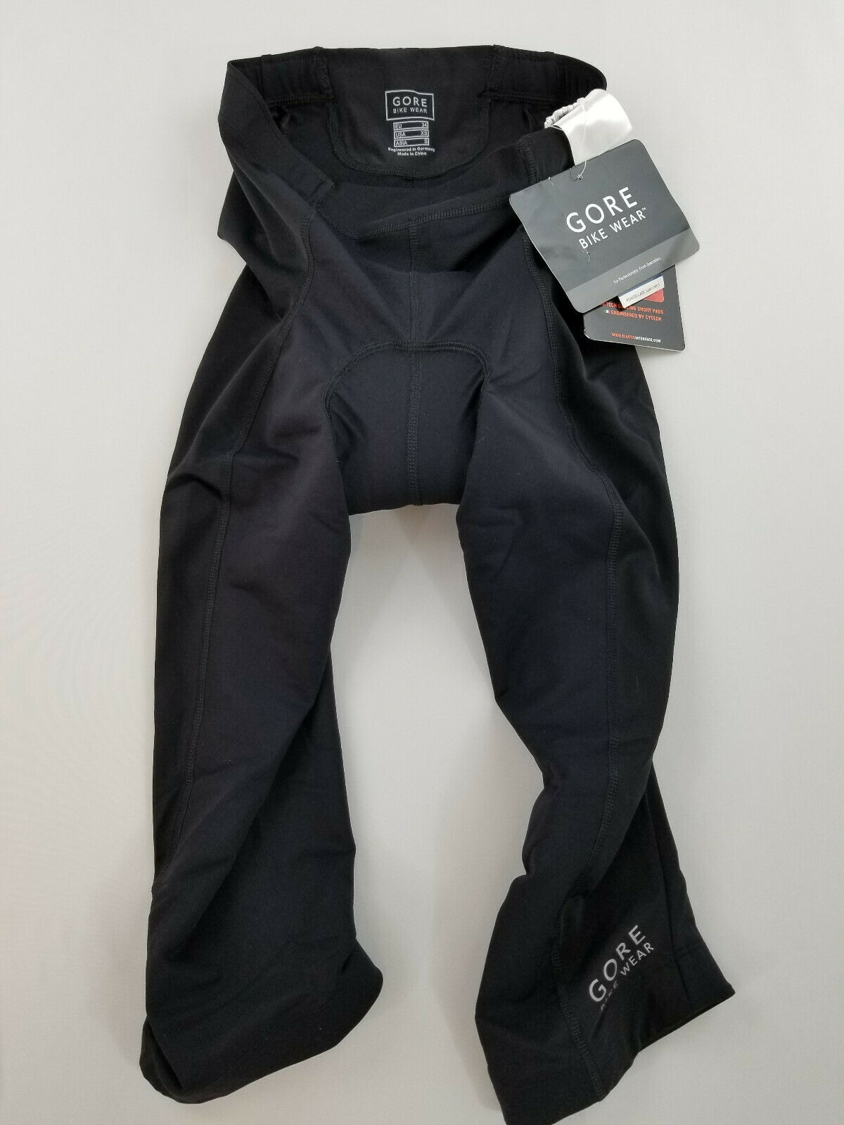 Nuovo Gore Bike Wear Pantaloni Donna Power Lady Seat Inserto Hi-Tech Nero XS