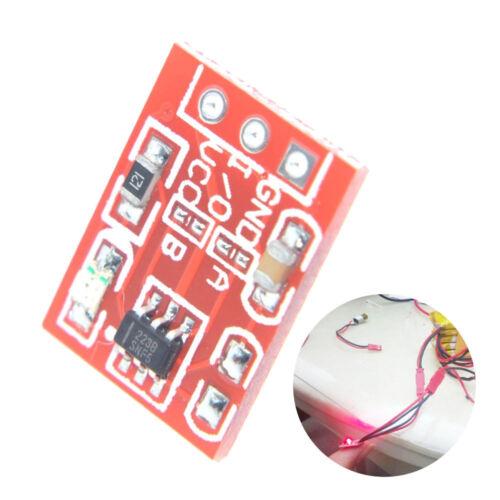 Clés TTP223B tactile numérique Capteur capacitif Switch Module Pour Arduino Accessoire