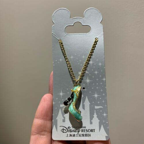 SHDR Aladdin Jasmine princess shoe necklace Shanghai Disneyland Disney park