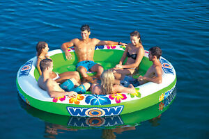 WOW-STADIUM-ISLANDER-Inflatable-Tube-Towable-Biscuit-Water-Toy